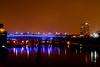 New Interstate 35W Bridge in light rain