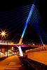 Martin Olav Sabo Bicycle/Pedestrian Suspension Bridge on the Midtown Greenway over Hiawatha Avenue (Hwy 55)