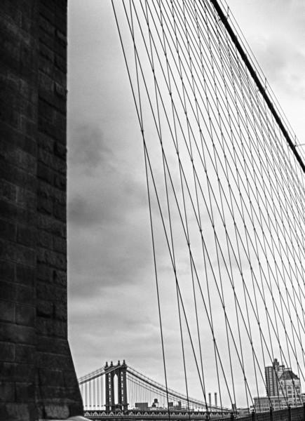 View of Williamsburg Bridge from Brooklyn Bridge