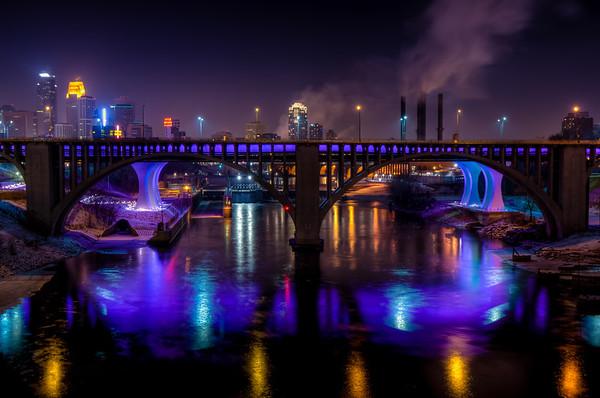 Purple 35W Bridge