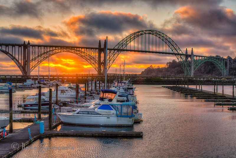 3-10-13 Yaquina Bay Bridge in Newport, Oregon