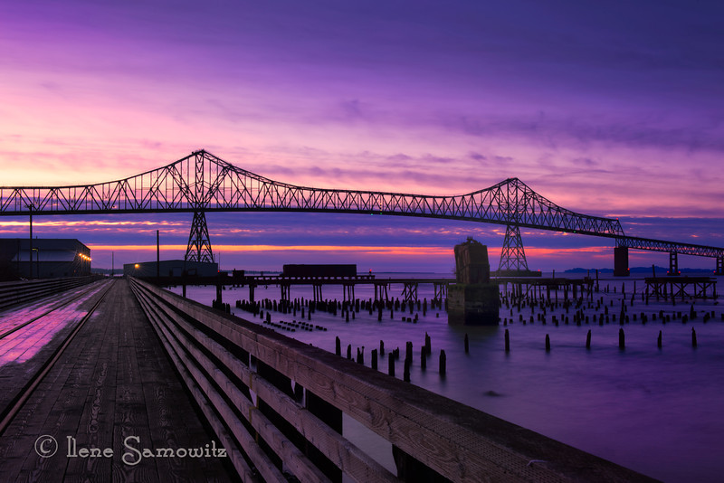 2-10-13 Astoria Bridge- this is a 25 sec exposure done with the Nikon d800e.