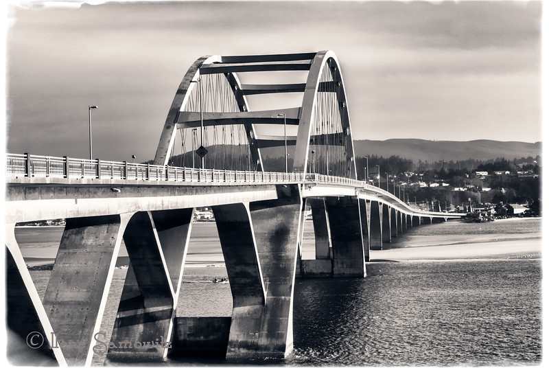 2-5-13 Alsea Bay Bridge in Waldport, Oregon shot with the Nikon 1 V1.