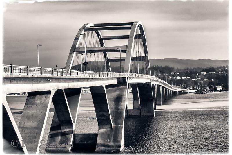 2-5-13 Alsea Bay Bridge in Waldport, Oregon shot with the Nikon 1 V1.
