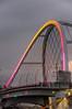 Lowry Avenue Bridge in Pink