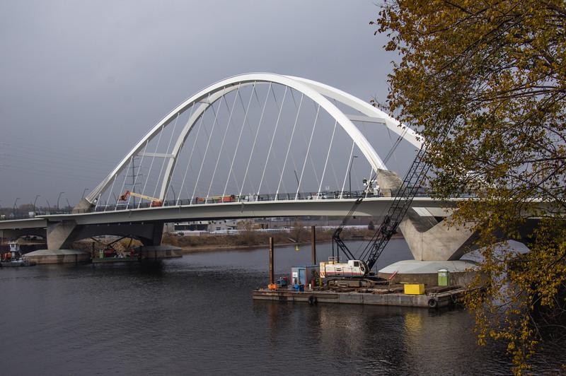 Lowry Avenue Bridge on Overcast Day