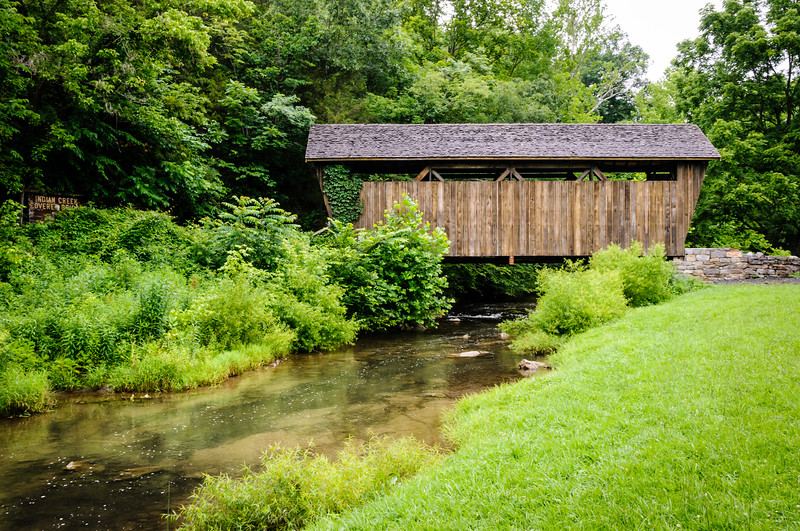 Indian Creek Covered Bridge, Salt Sulphur Springs, West Virginia