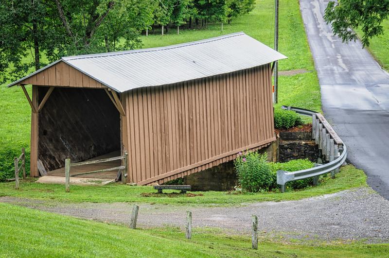 Jack's Creek Covered Bridge, Woolwine, Virginia