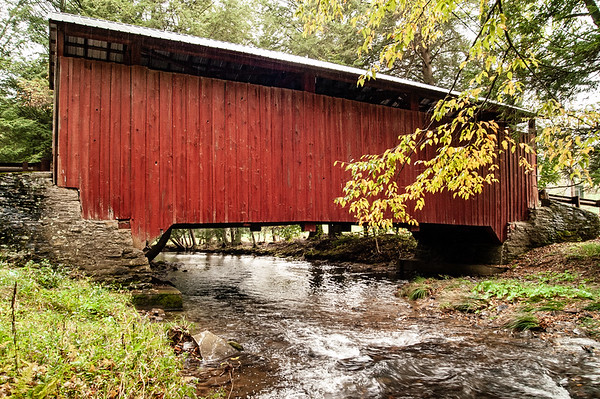 Jud Christie Covered Bridge, Jackson Township, Columbia County, Pennsylvania