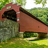 Martins Mill Covered Bridge, Weaver Road, Antrim Township, Pennsylvania
