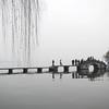 Stone bridge over West Lake, Hangzhou, Zhejiang Province, China by kstellick