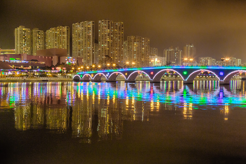 Lek Yuen Bridge at Chinese New Year