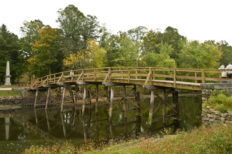 "<h2>The Shoot Heard Around The World</h2>This is the bridge in Lexington where the Revolutionary War started.  ""The shot that was heard around the world."""