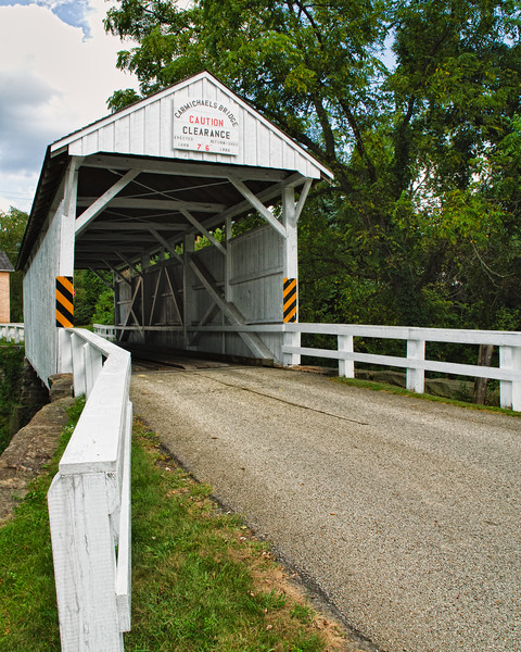 Carmichaels Bridge, Carmichael, Pennsylvania, USA