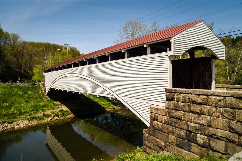 Barrackville Covered Bridge, Marion County, West Viginia