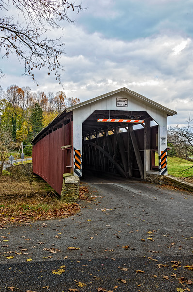 White Rock Forge Covered Bridge, Kirkwood, Pennsylvania