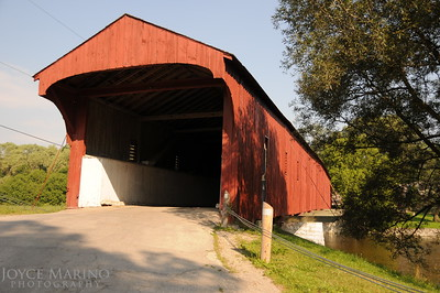 Covered bridge in St Jacobs, Ontario Canada -- DSC_2797