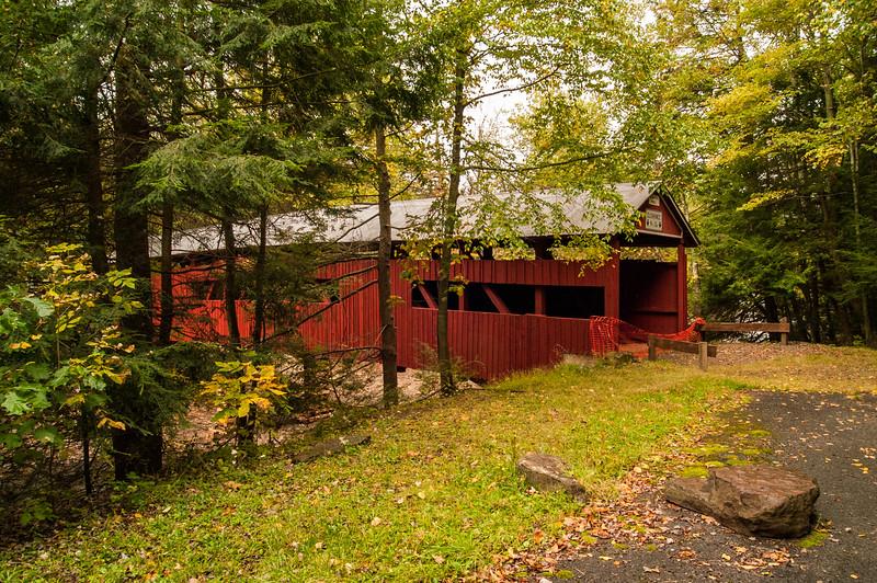 Josiah Hess Covered Bridge, Winding Road, Fishing Creek Township, Orangeville, Columbia County Pennsylvania
