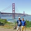 David & Dad @ Golden Gate Bridge