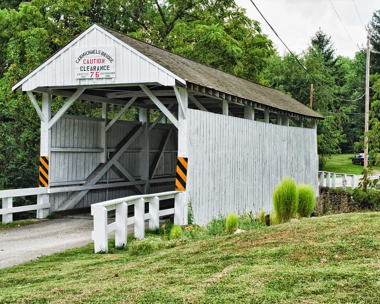 Carmichaels Bridge, Carmichael, Pennsylvania, USA