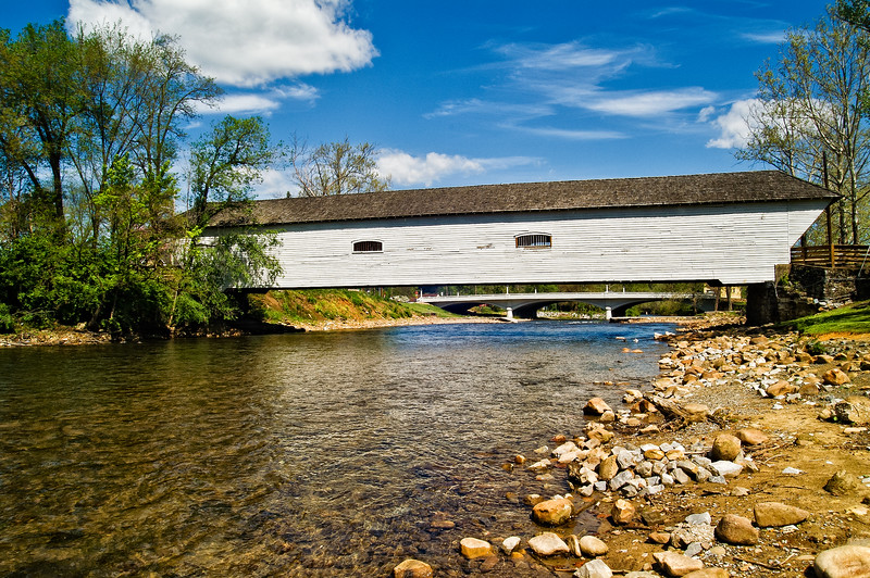 Elizabethton Covered Bridge, Elizabethton, Tennessee