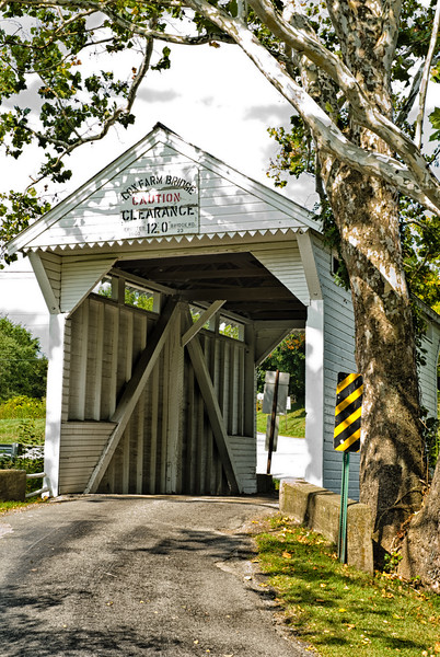 Cox Farm Bridge, Lippincott, Pennsylvania, USA