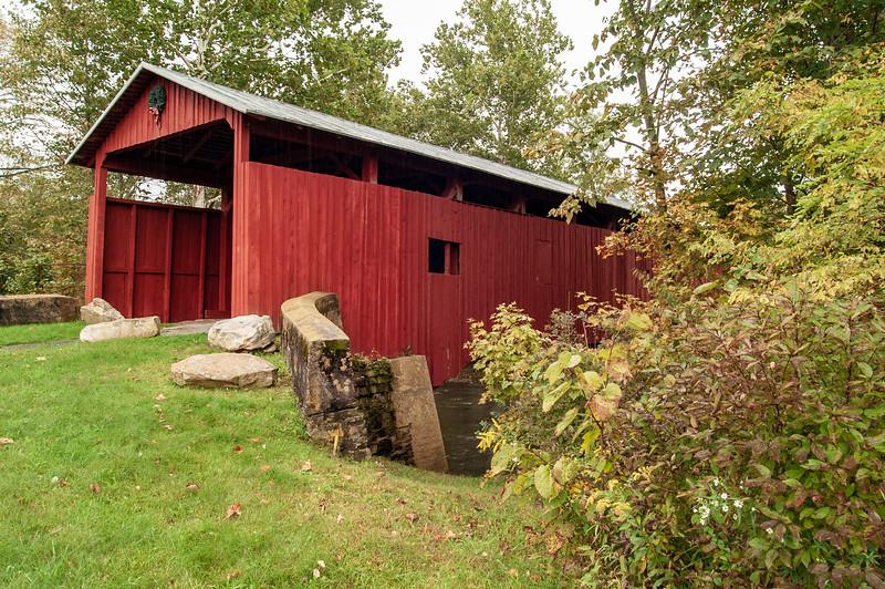 Stillwater Covered Bridge, Stillwater, Columbia County, Pennsylvania