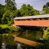 Hokes Mill Covered Bridge, Ronceverte, West Virginia