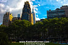 Bryant Park Skyline in HDR