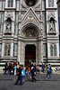 Right side door of the Duomo