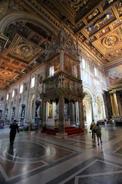 Papal Altar and Baldacchino