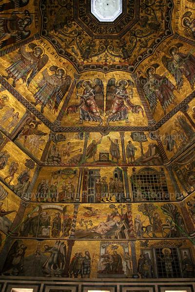 Mosaic Ceiling (detail #5)