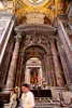 Basilica of Saint Peter<br /> Vatican City <br /> Rome, Italy