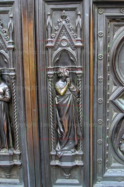 Bronze doors of the Duomo