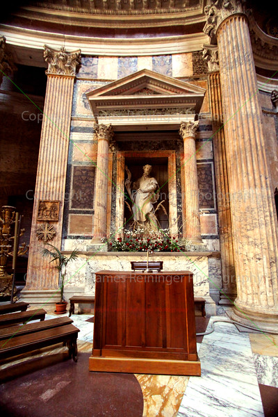 The Pantheon (Church of St. Mary and the Martyrs)