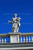 Statue<br /> Saint Peter's Square<br /> Vatican City<br /> Rome, Italy