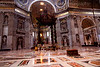 Alter<br /> Basilica of Saint Peter<br /> Vatican City<br /> Rome, Italy