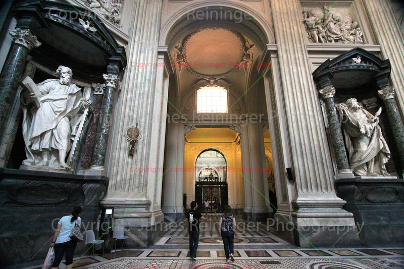 St. Simon & St. Bartolomew at Arcibasilica Papale di San Giovanni in Laterano