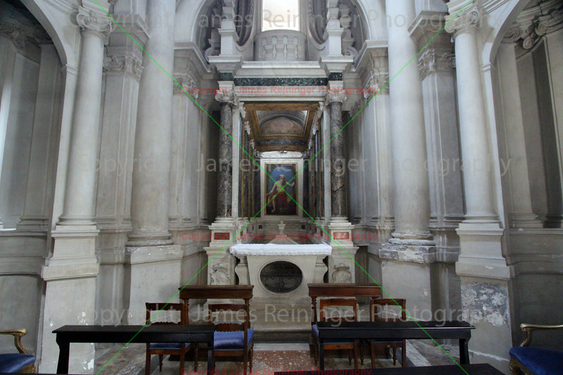 Avila Chapel, Basilica of Our Lady in Trastevere (Santa Maria)