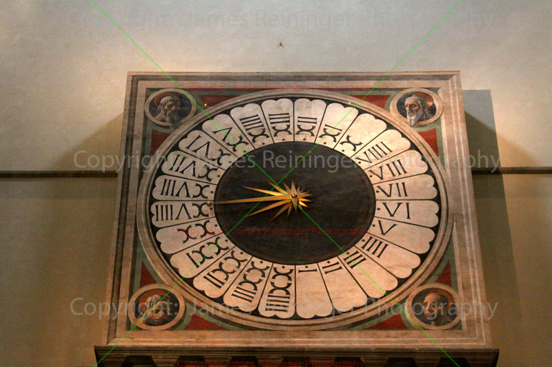 Clock decorated by Paolo Uccello