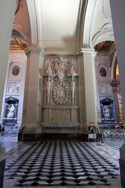 Tomb of Pope Sergius IV