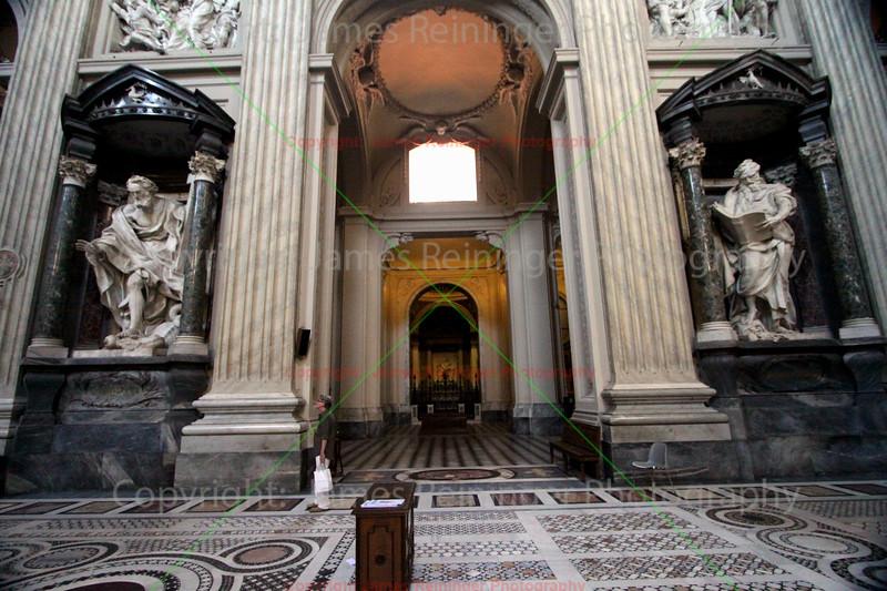 St. Philip & St. Matthew at Arcibasilica Papale di San Giovanni in Laterano
