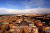 View of Rome from the top of the Basilica of Saint Peter