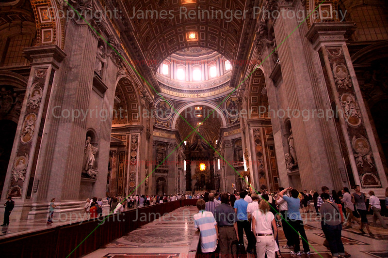 Basilica of Saint Peter<br /> Vatican City<br /> Rome, Italy