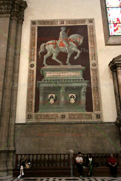 Funerary Monument to Sir John Hawkwood by Paolo Uccello