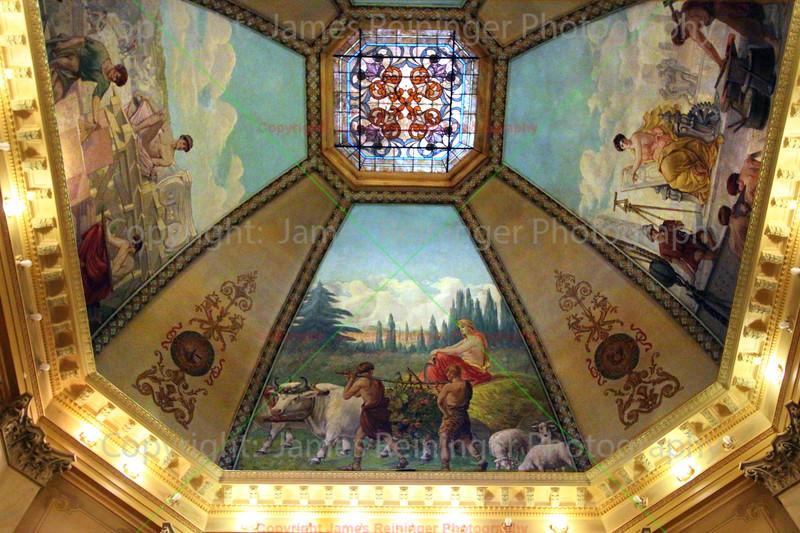 Murals painted by Odin J. Oyen
