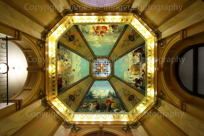 Ceiling of the Rotunda (by Odin J. Oyen)