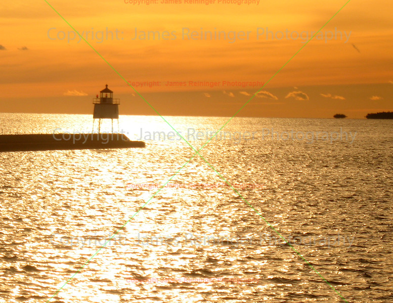 Two Harbors at Sunset