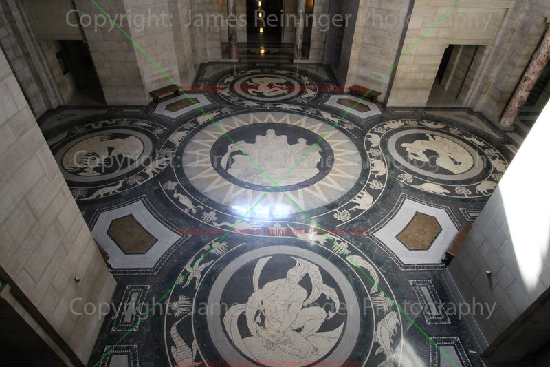 Rotunda mosaics (by Hildreth Meière)