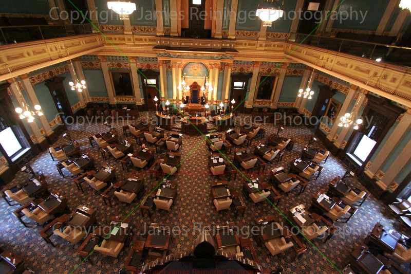 Senate Chambers (From the 4th floor balcony)